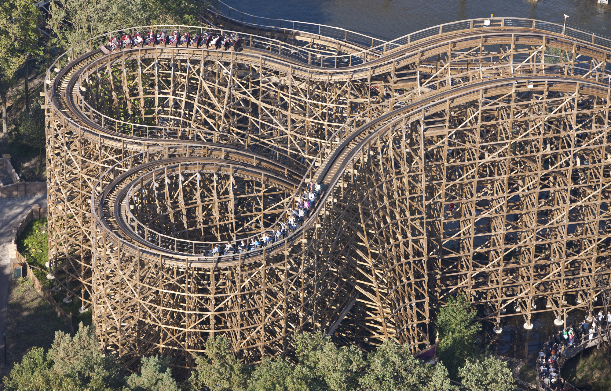 1 George And The Dragon Roller Coaster Hd Wallpapers