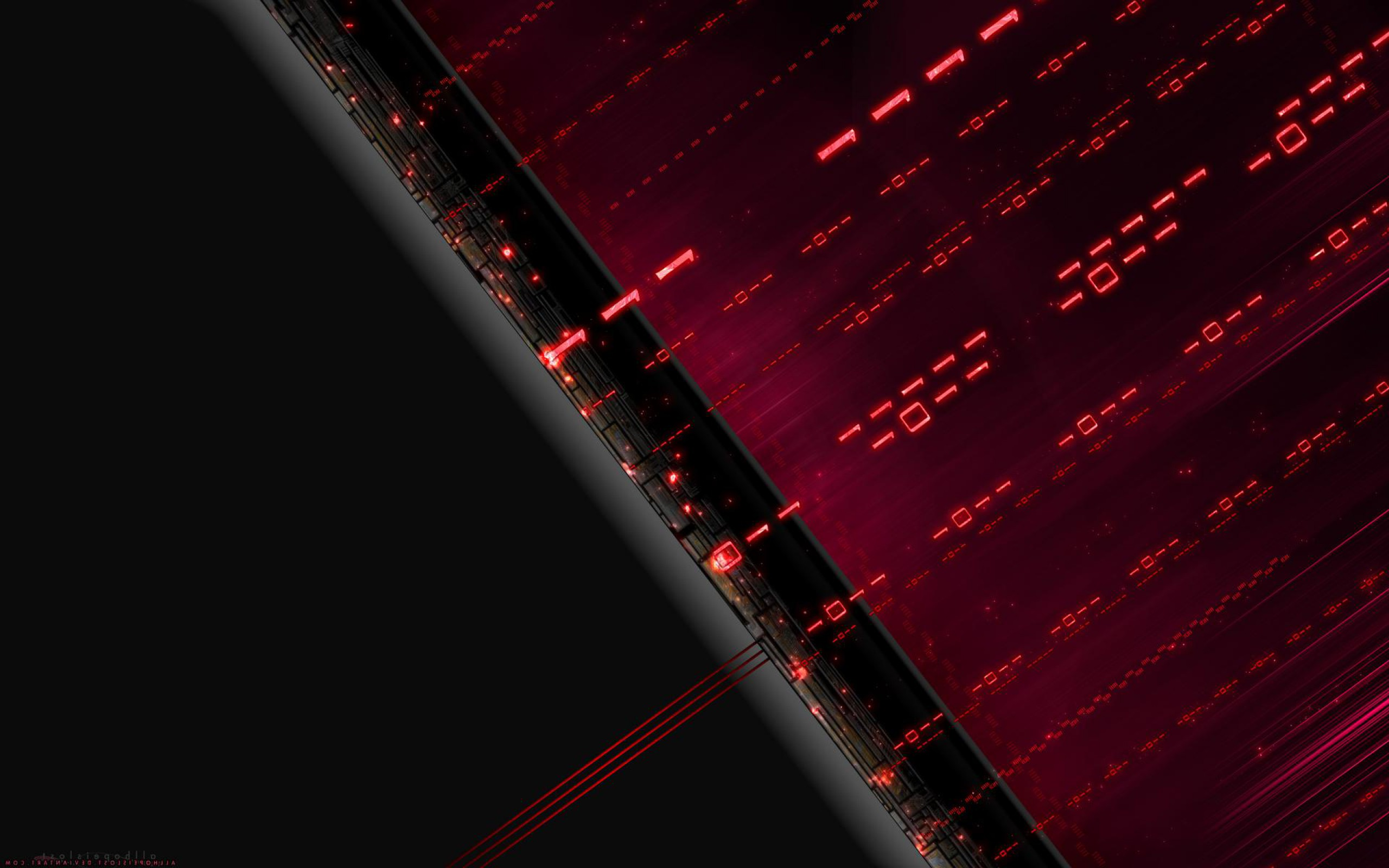 Binary Full HD Wallpaper and Background Image | 2560x1600 ...