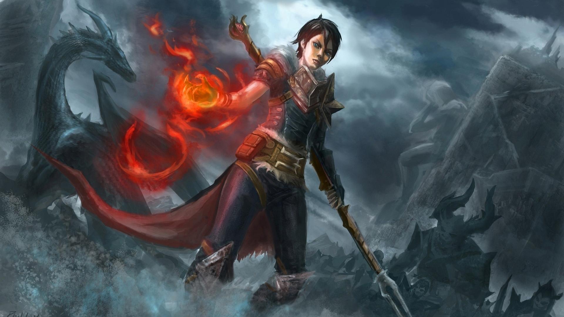 Dragon Age: Origins HD Wallpaper