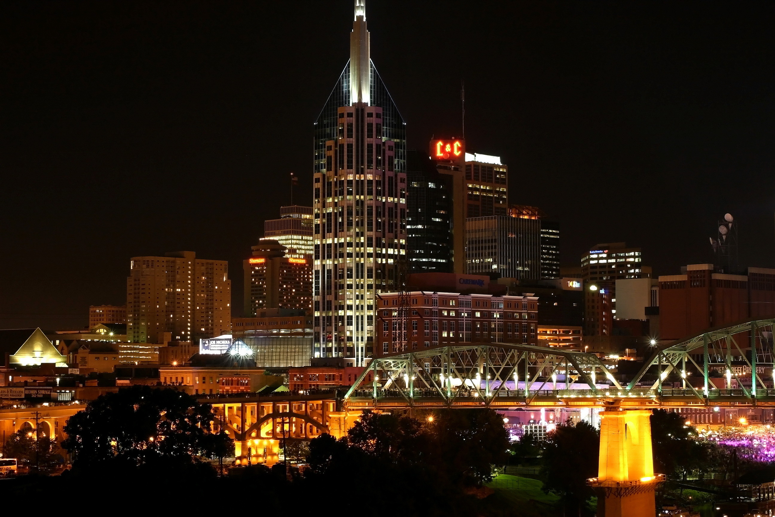 Nashville Full Hd Wallpaper And Background Image