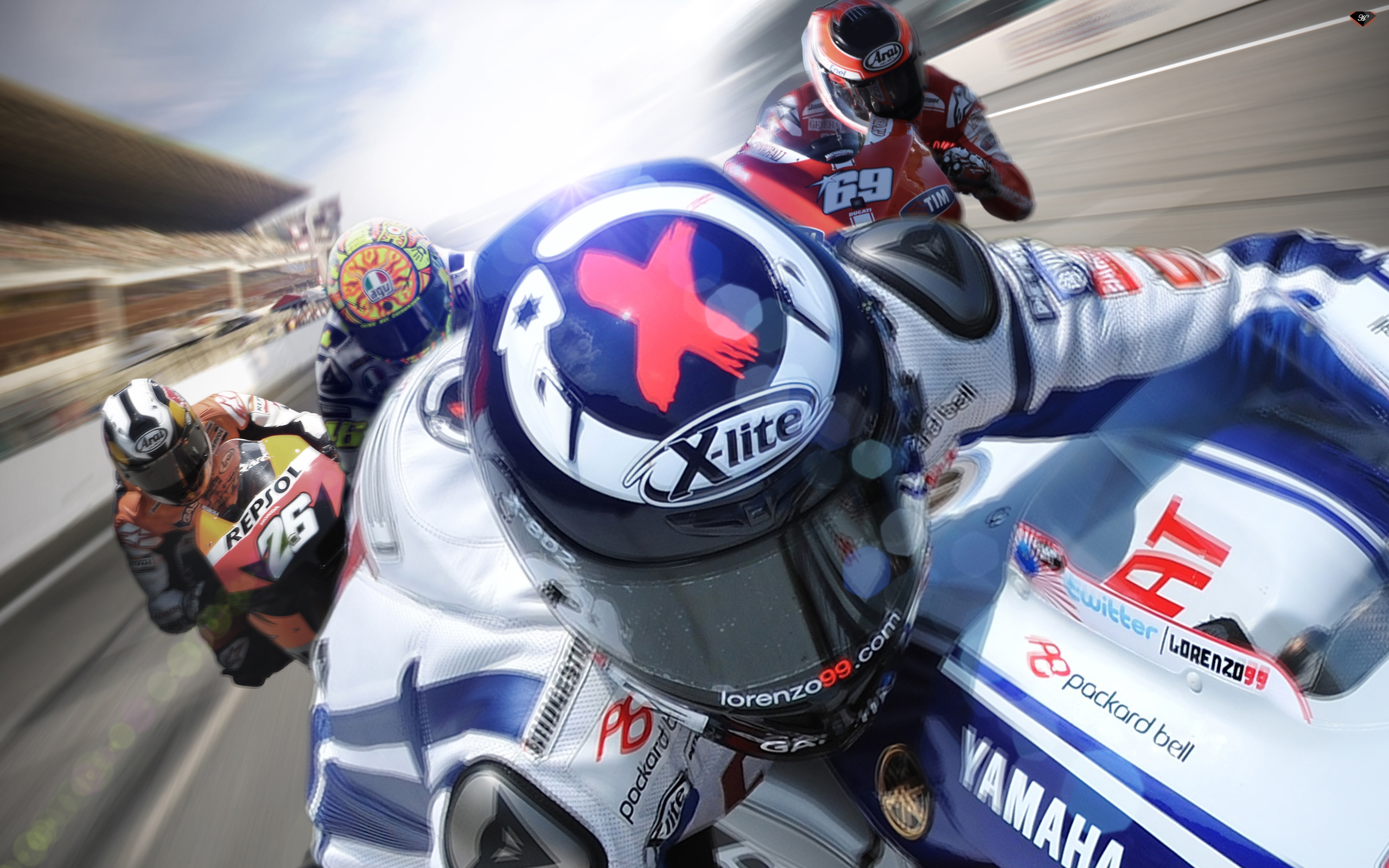 MotoGP Full HD Wallpaper and Background 2560x1600 ID371971