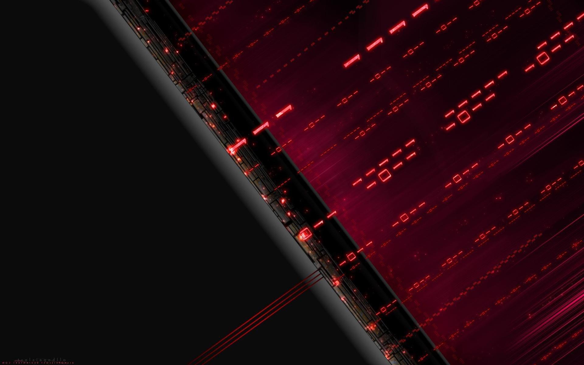 Technologie - Binary  Fond d'écran