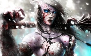 Fantasy - Women Warrior Wallpapers and Backgrounds ID : 371277