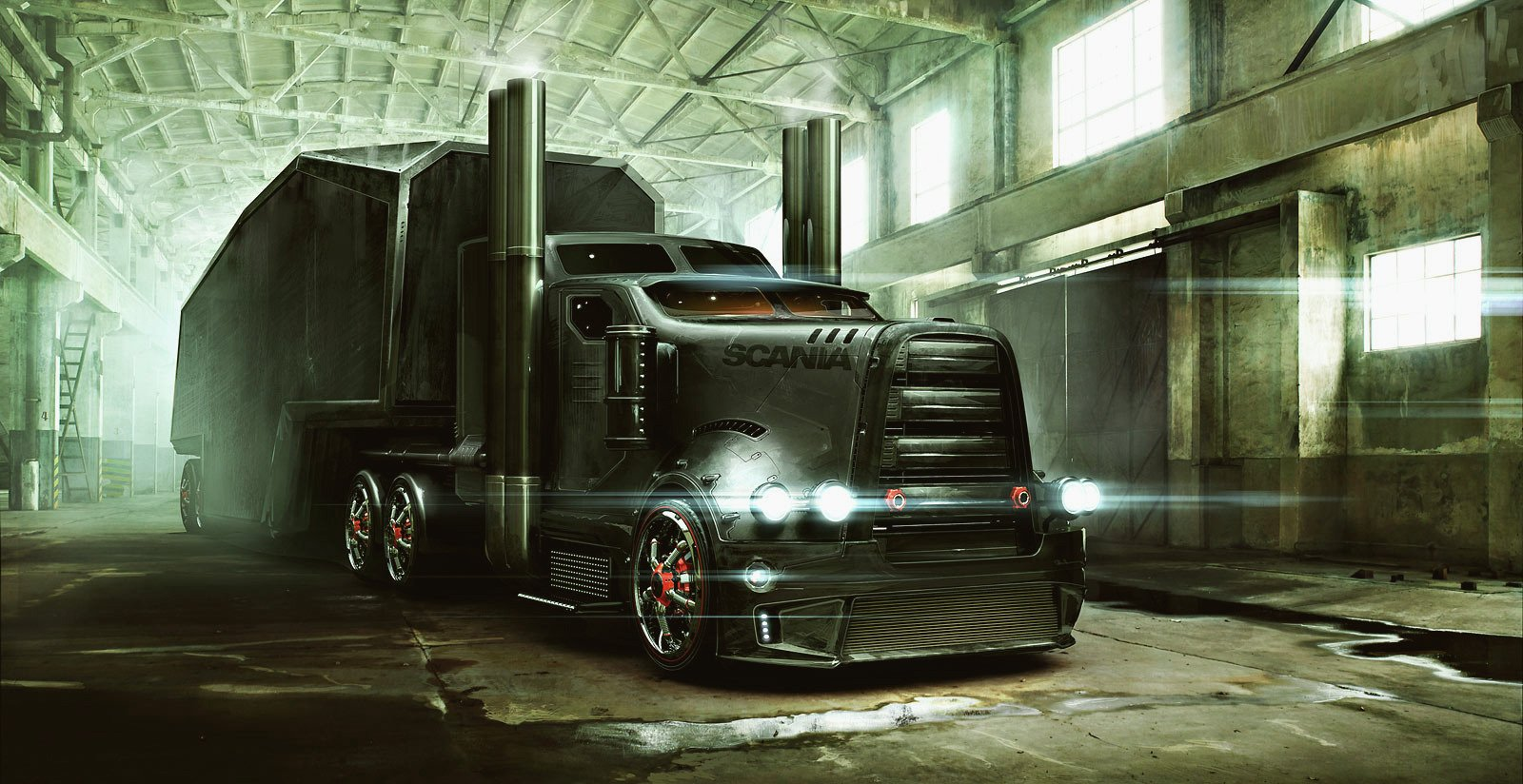 312 Truck Hd Wallpapers Background Images Wallpaper Abyss