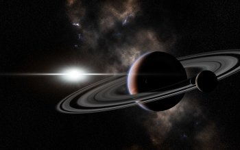 Sci Fi - Planetary Ring Wallpapers and Backgrounds ID : 372331