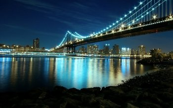 Man Made - Manhattan Bridge Wallpapers and Backgrounds ID : 372535