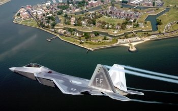 Military - Lockheed Martin F-22 Raptor Wallpapers and Backgrounds ID : 373981