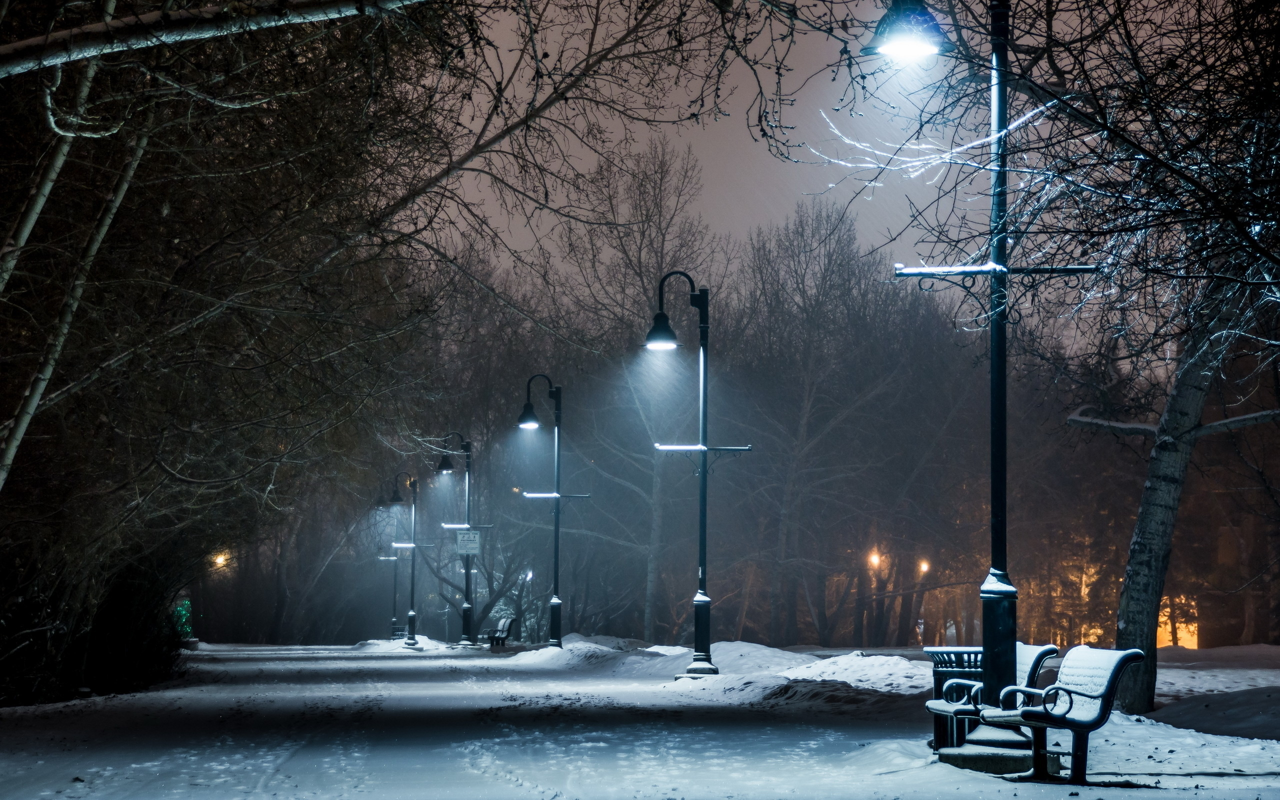 80 Lamp Post HD Wallpapers | Background Images - Wallpaper Abyss for Street Lights At Night Hd  565ane