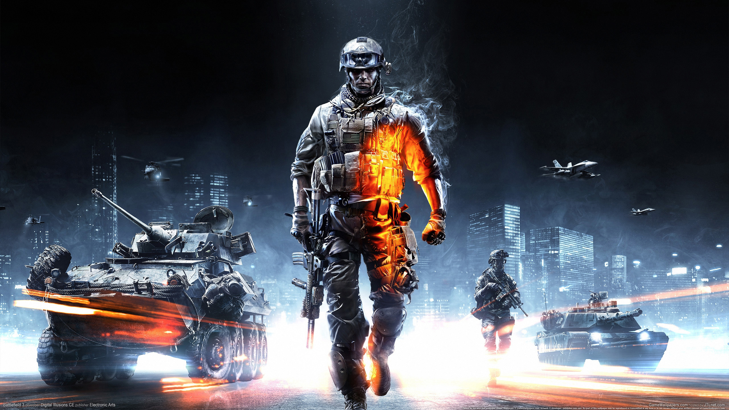 Download Wallpaper 1280x1280 Battlefield 4 Game Ea: Battlefield 3 HD Wallpaper