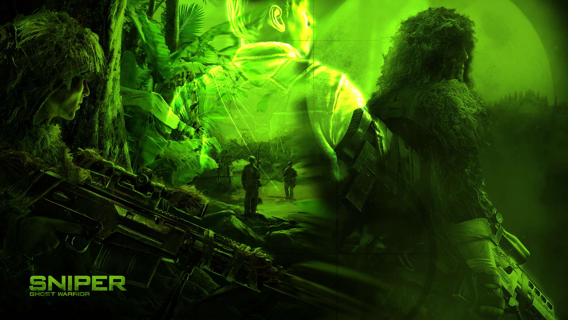 Sniper: Ghost Warrior HD Wallpaper