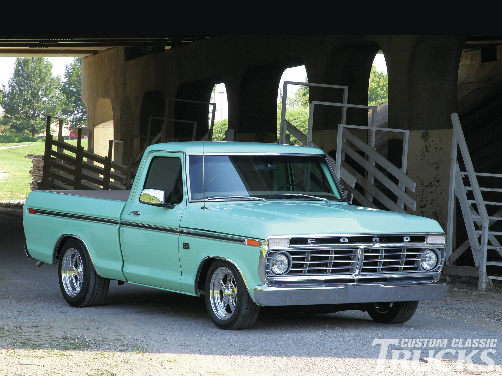 1 1976 Ford F 100 HD Wallpapers | Background Images ...