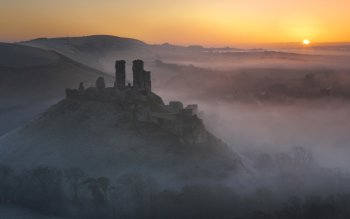 Man Made - Corfe Castle Wallpapers and Backgrounds ID : 374953