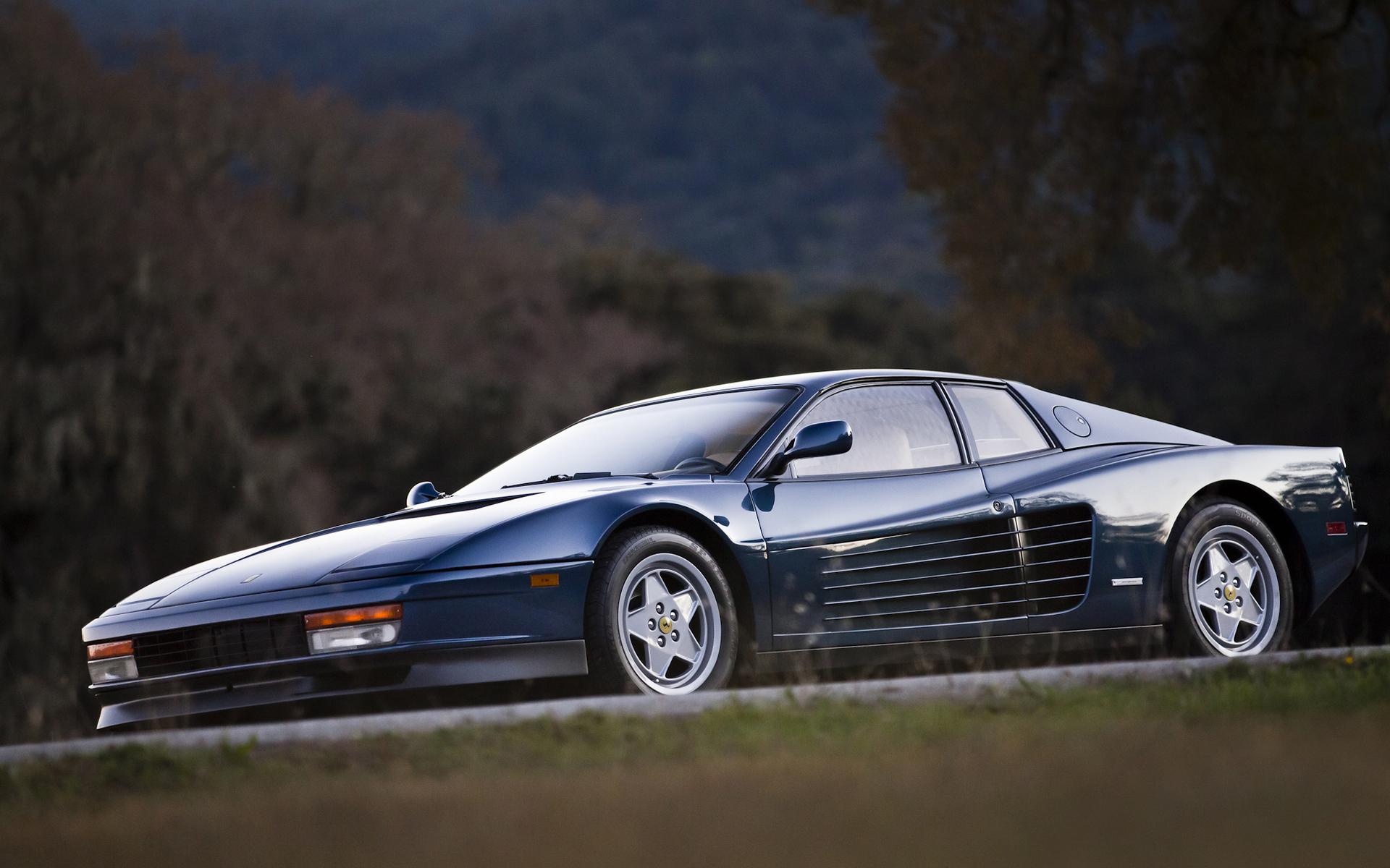 5 Ferrari Testarossa HD Wallpapers Backgrounds