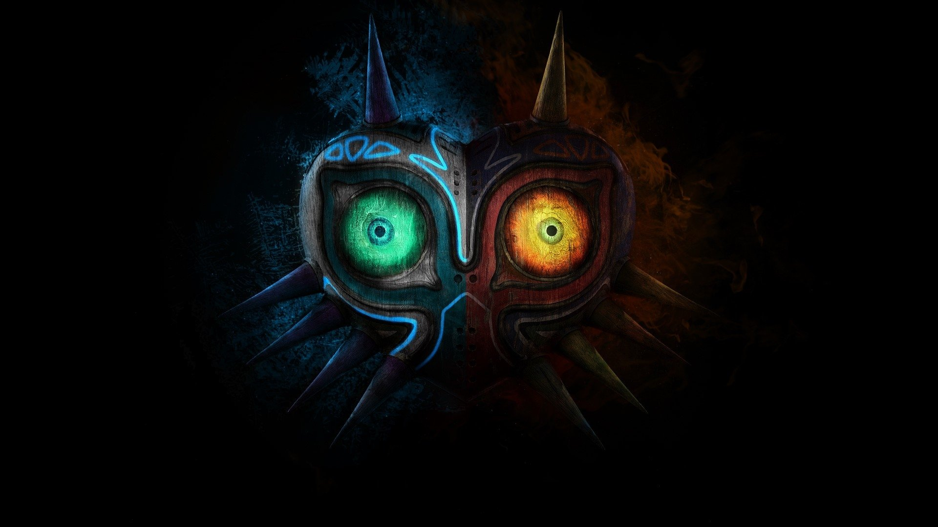 View Majoras Mask Wallpaper  JPG