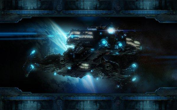 Sci Fi Spaceship Starcraft II HD Wallpaper | Background Image