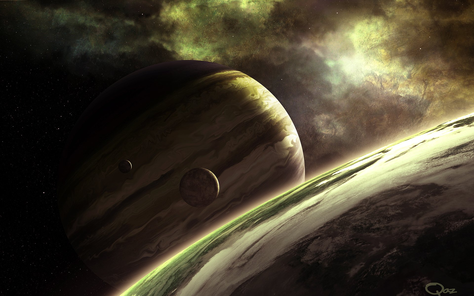 Nokia Lumia 535 Saturn: Planets HD Wallpaper