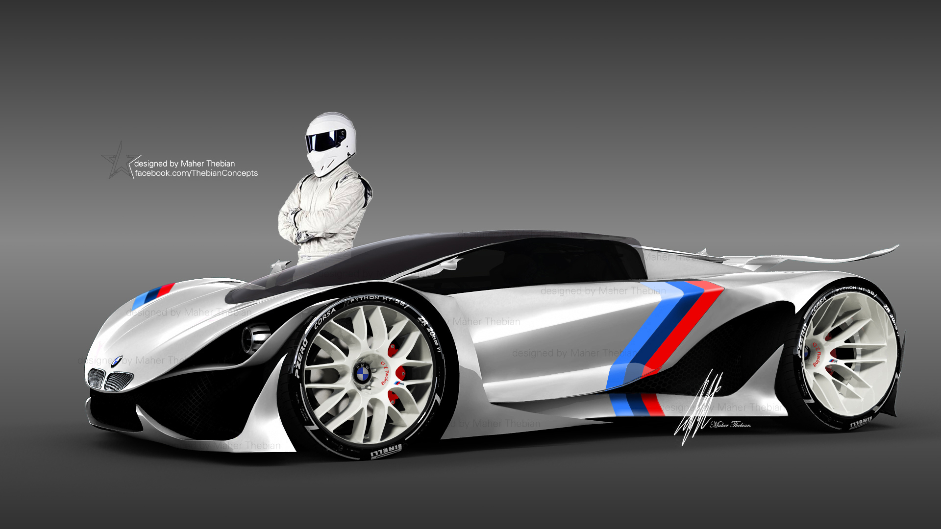 Design Concepts Wallpaper : Bmw mt m power concept full hd wallpaper and background
