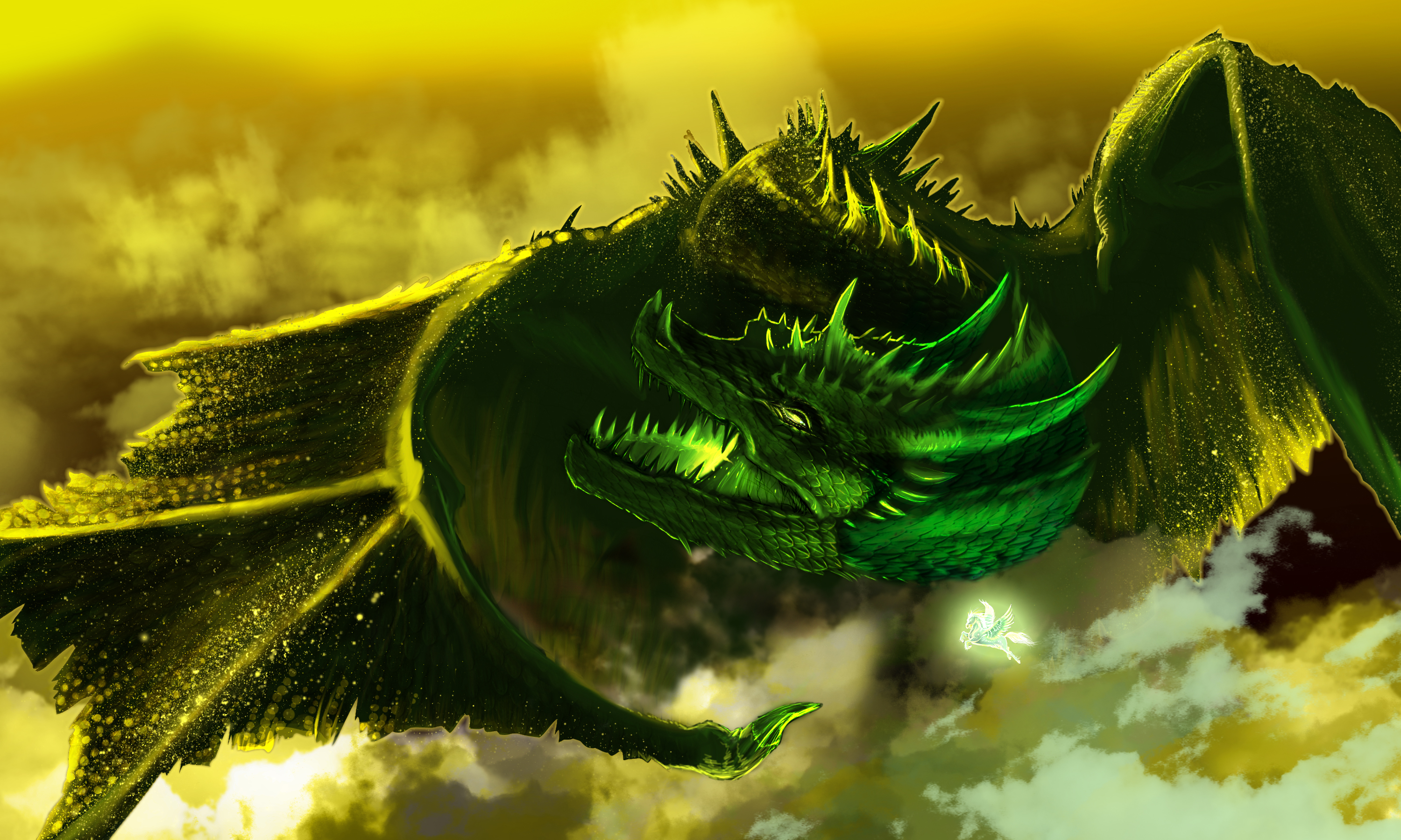 Dragon hd wallpaper background image 3000x1800 id - Dragon wallpaper hd for pc ...