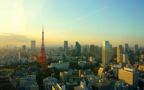 Man Made Tokyo Cities Japan Tokyo Tower HD Wallpaper | Background Image