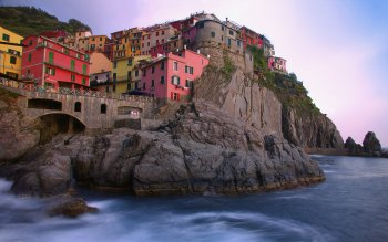 Man Made - Manarola Wallpapers and Backgrounds ID : 379035