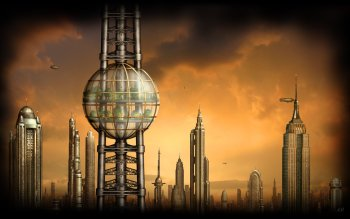 Sci Fi - City Wallpapers and Backgrounds ID : 379492