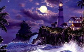 Artistic - Lighthouse Wallpapers and Backgrounds ID : 379883