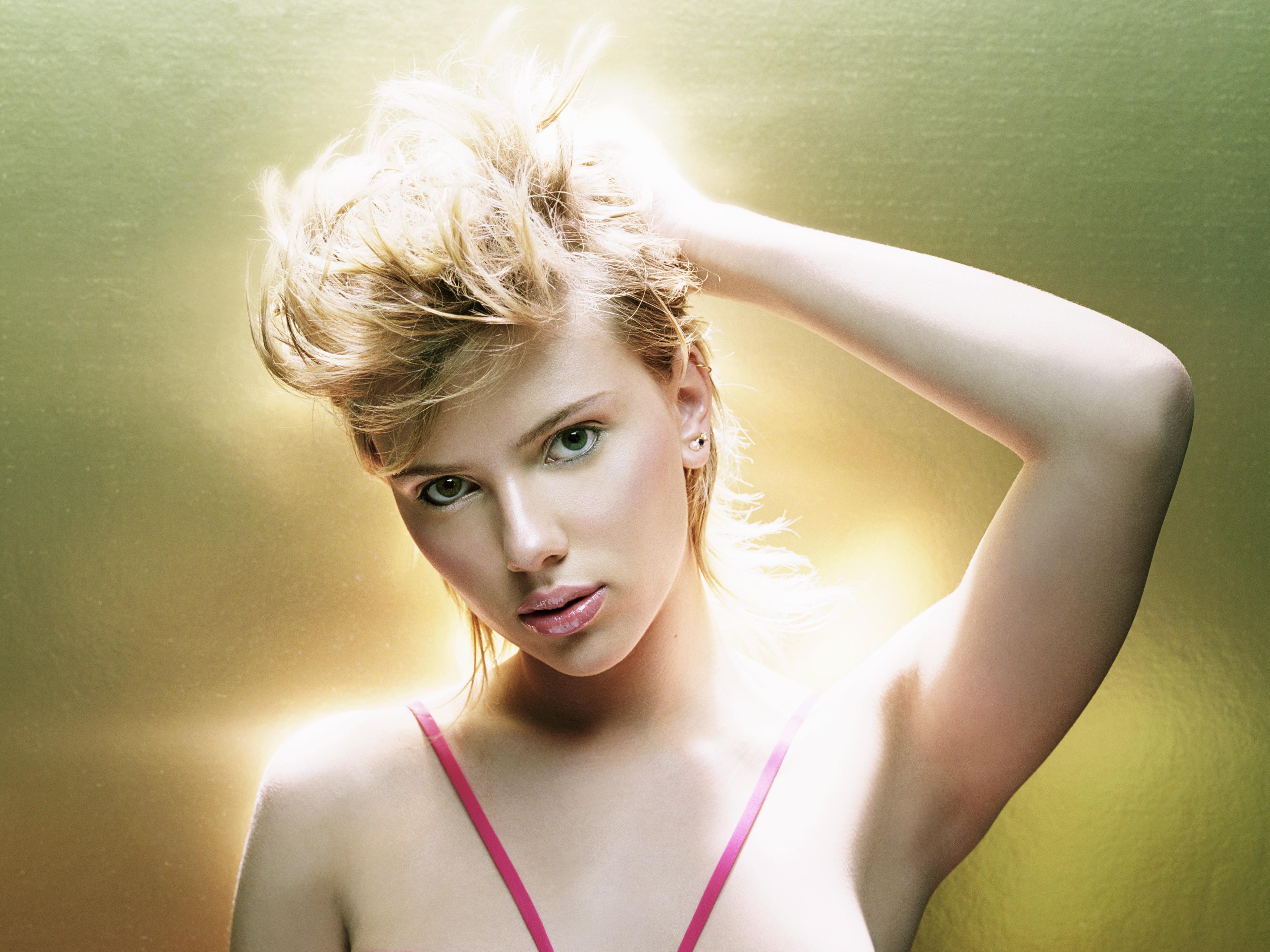 Scarlett Johansson 4k Ultra HD Wallpaper | Background ...