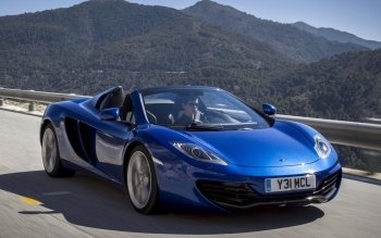 Vehicles - McLaren MP4-12C Spider Wallpapers and Backgrounds ID : 381316