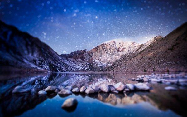 Earth Reflection Tilt Shift HD Wallpaper | Background Image