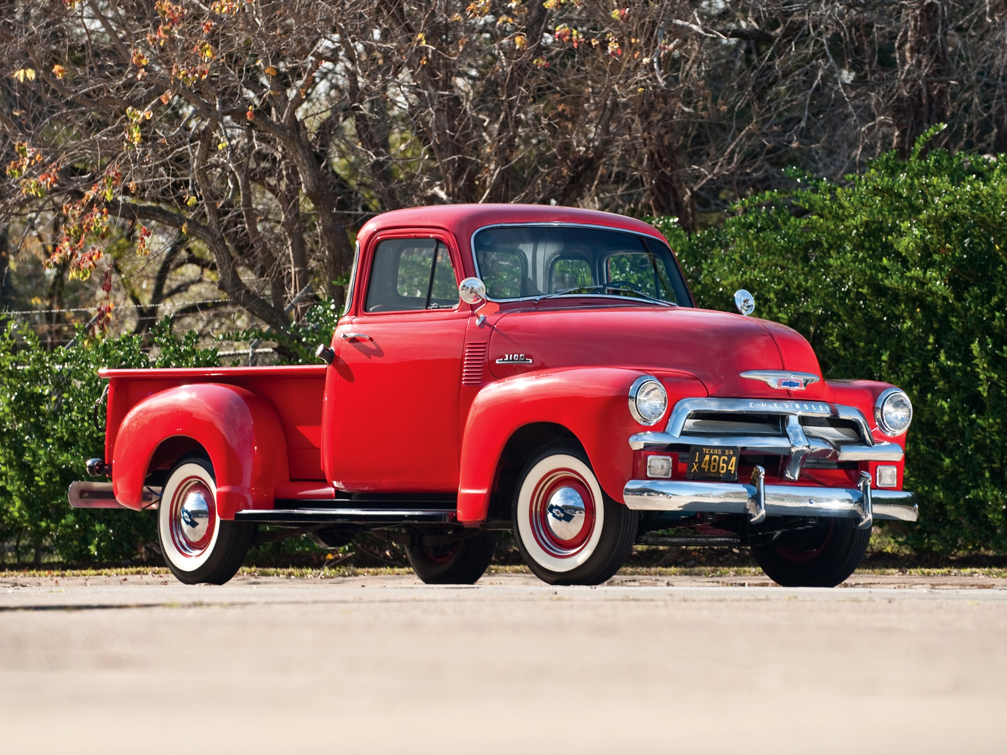 1 1954 Chevrolet Pickup Hd Wallpapers