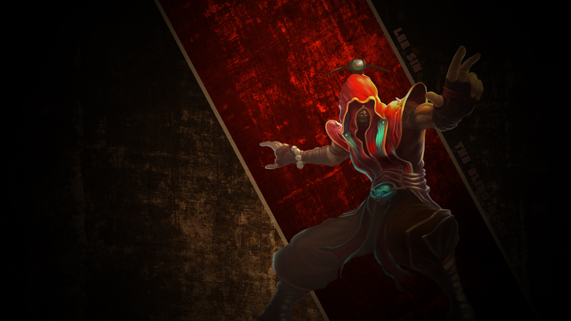 lee sin full hd wallpaper and background 1920x1080 id