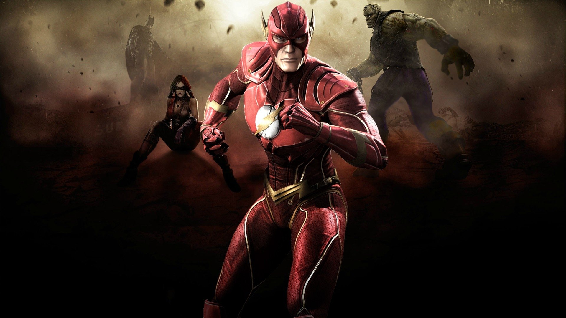 107 Injustice Gods Among Us HD Wallpapers