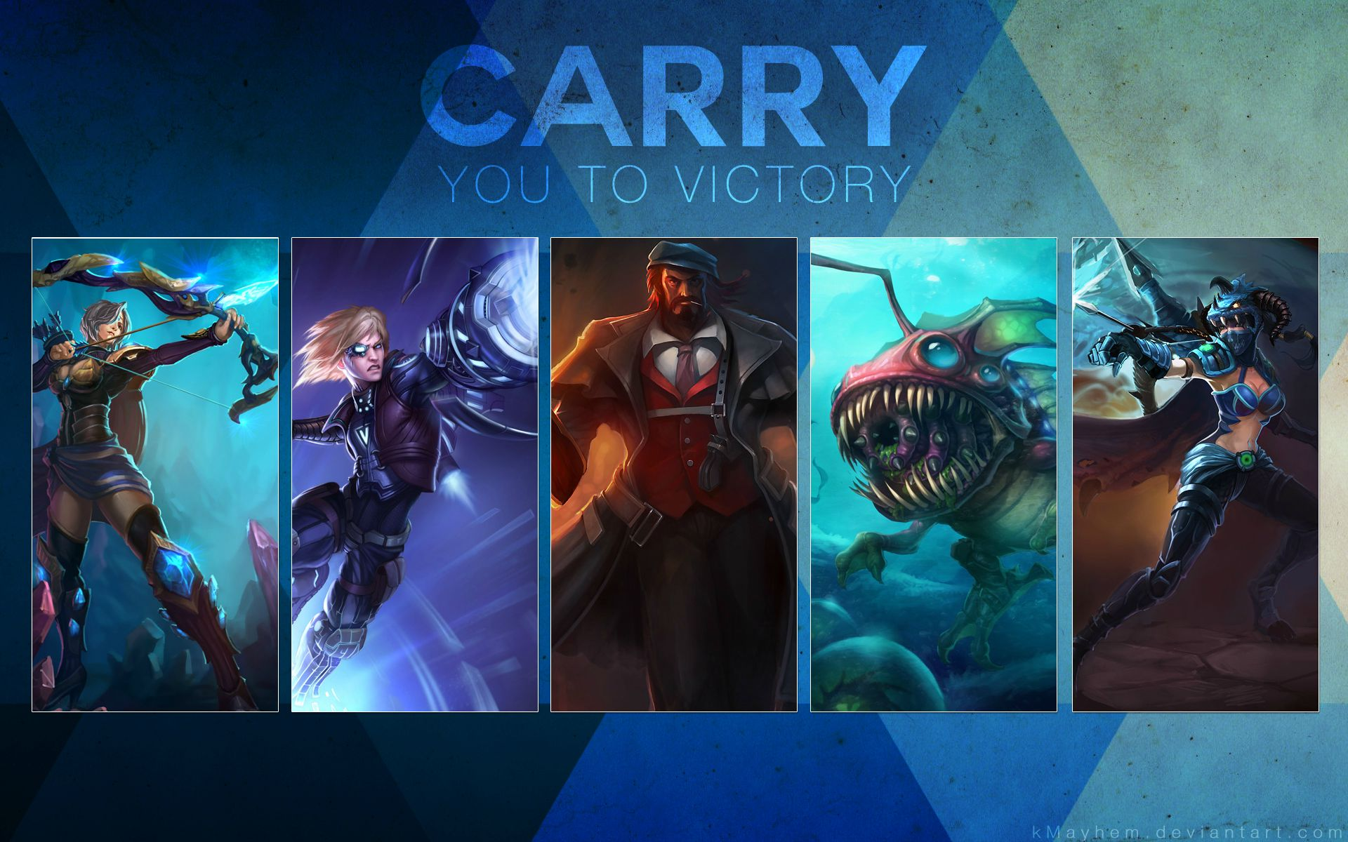League Of Legends Hd Wallpaper Background Image 1920x1200 Id