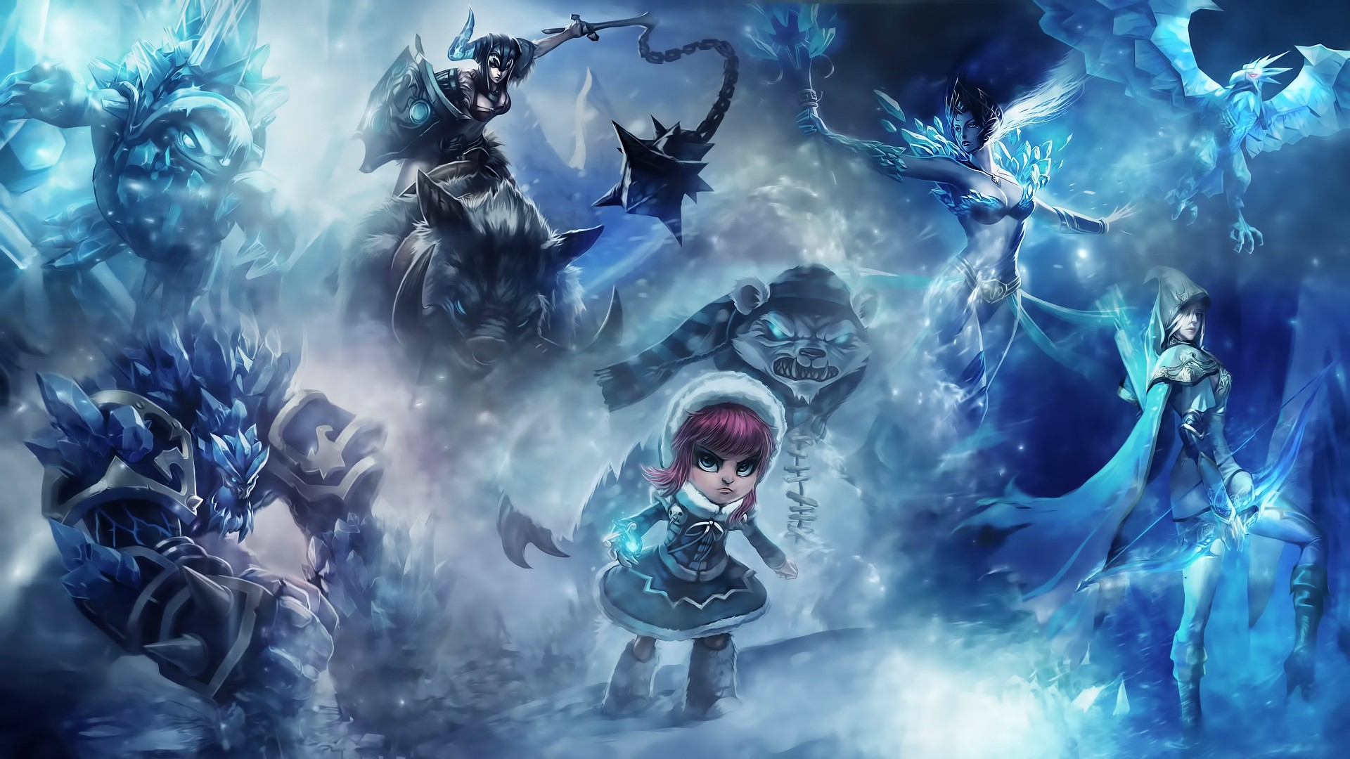 Dual Monitor Wallpaper League Of Legends: League Of Legends HD Wallpaper