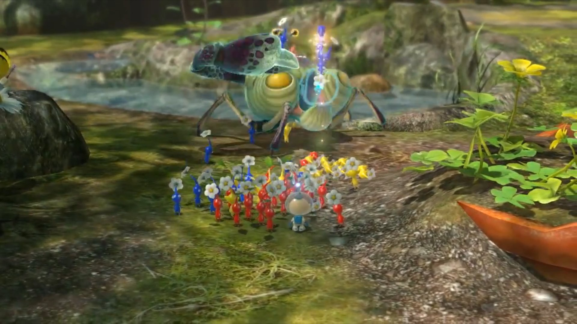 Photo Collection Pikmin 3 Hd Wallpaper