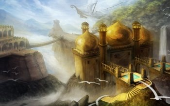 Fantasy - City Wallpapers and Backgrounds ID : 385868