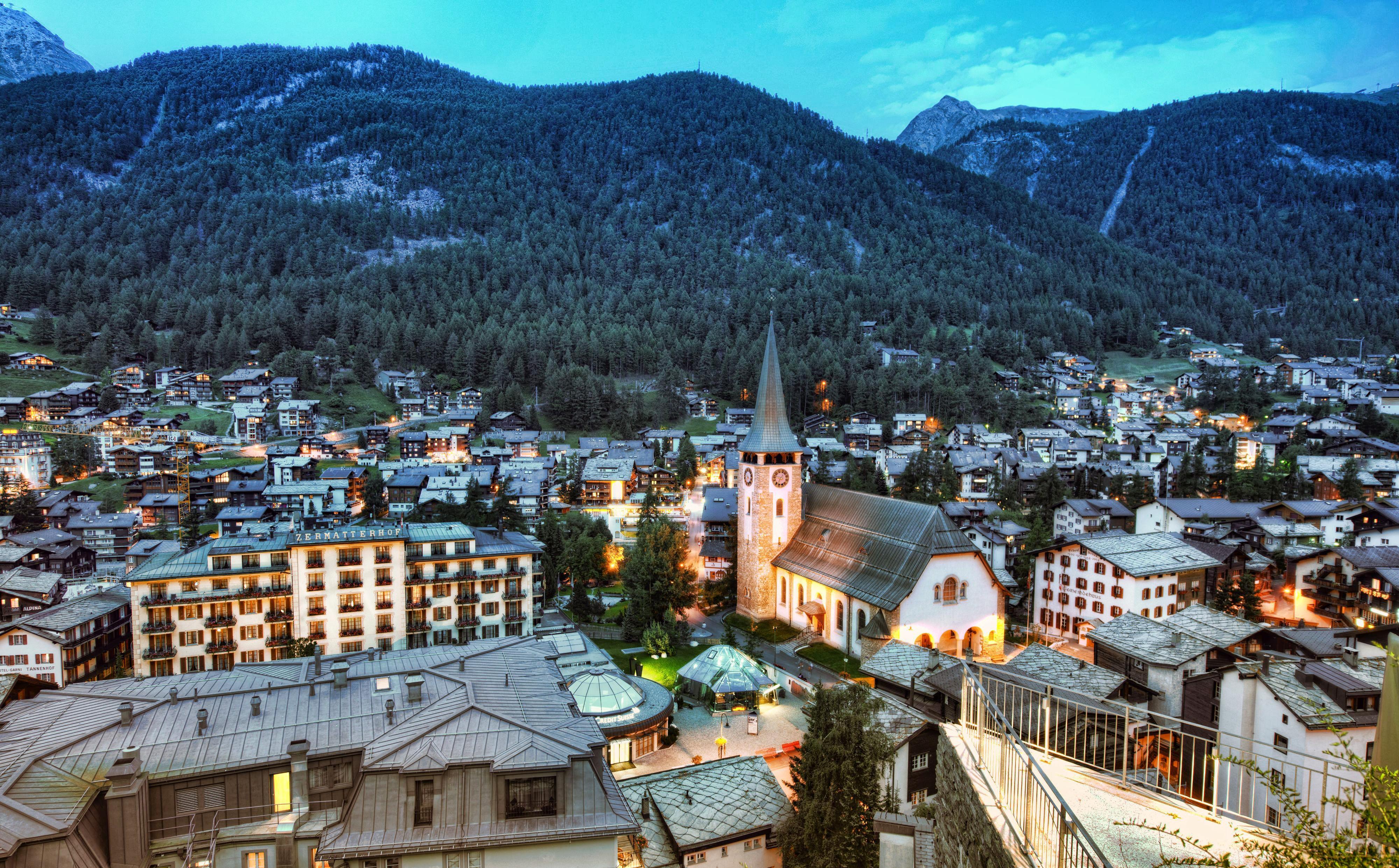 Zermatt 4k Ultra Fondo De Pantalla Hd Fondo De Escritorio