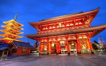 Religioso - Asakusa Kannon Temple Wallpapers and Backgrounds ID : 386784