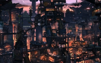 Fantasy - City Wallpapers and Backgrounds ID : 386890