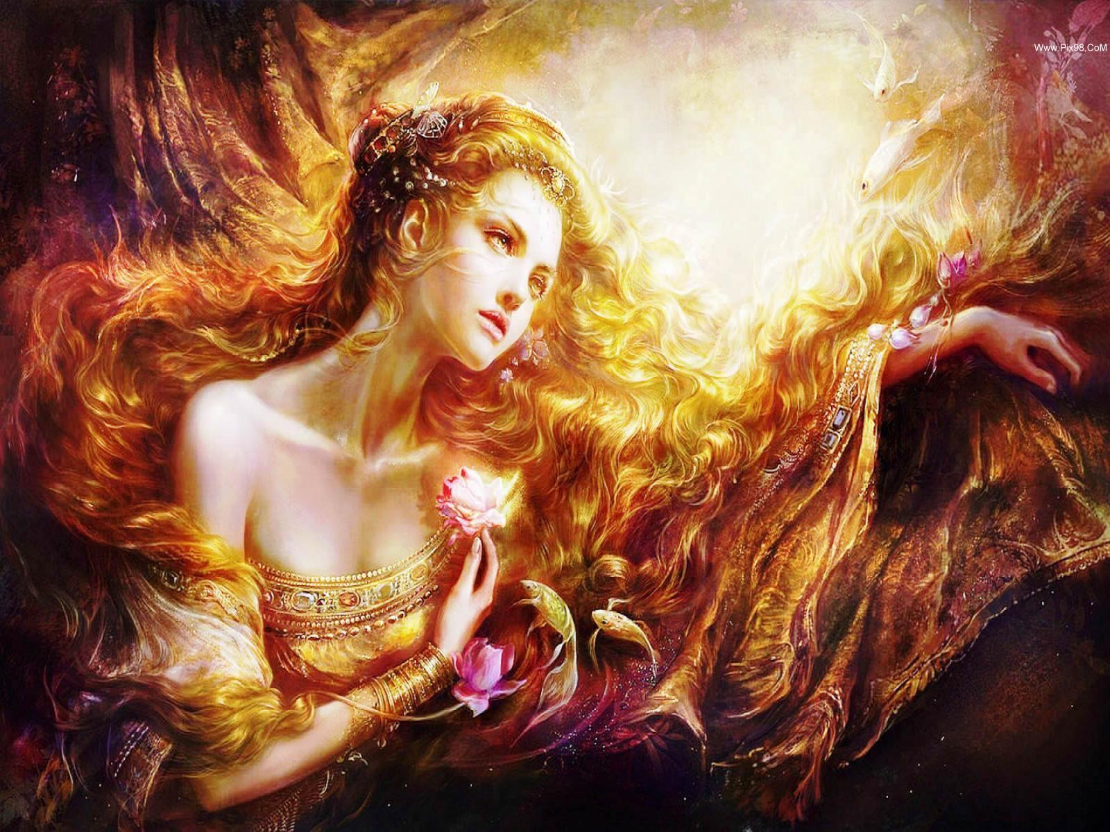 Fantasy - Wom  en  Wallpaper