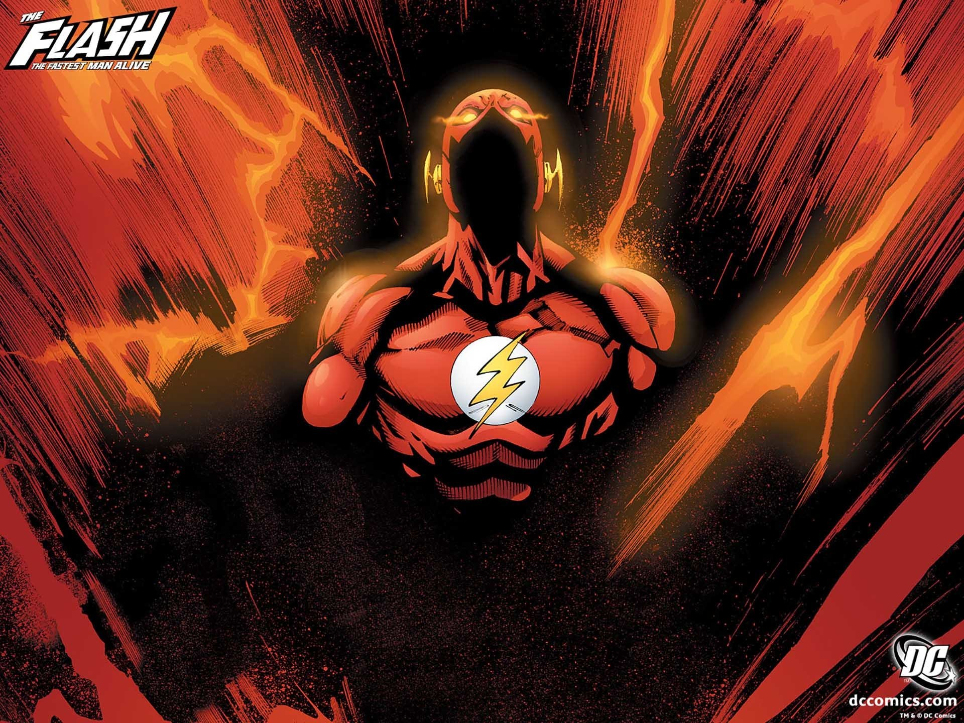 Comics - Flash  Comic Comics Superhero DC Comics Wallpaper