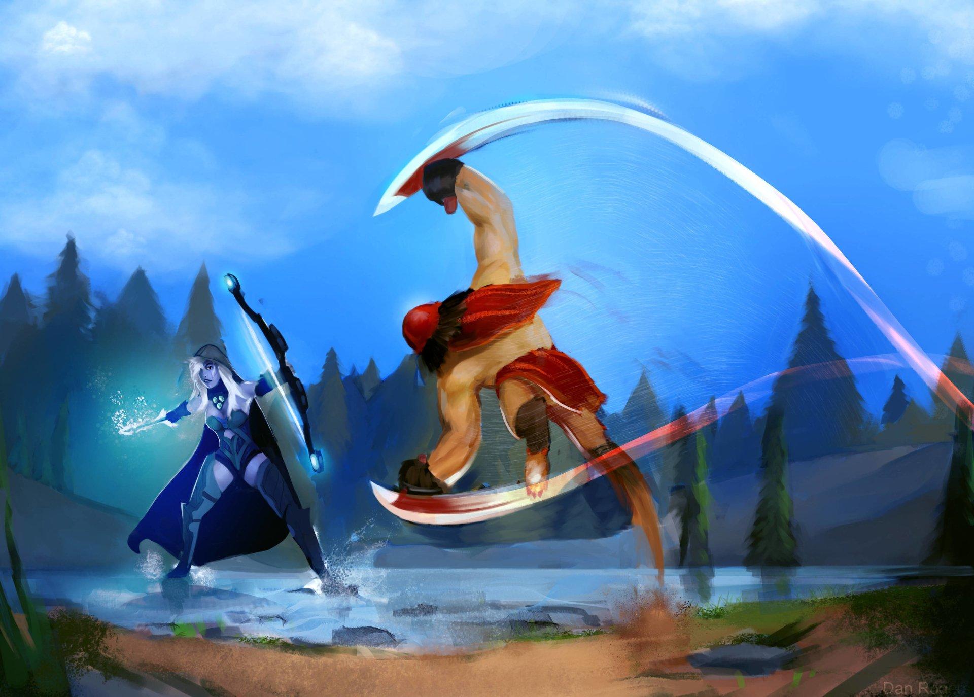 Video Game - DotA 2  Wallpaper