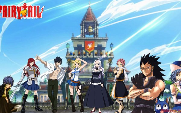 Anime - Fairy Tail Wallpapers and Backgrounds