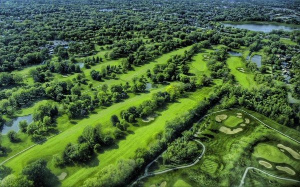 Man Made Golf Course Golf HD Wallpaper | Background Image