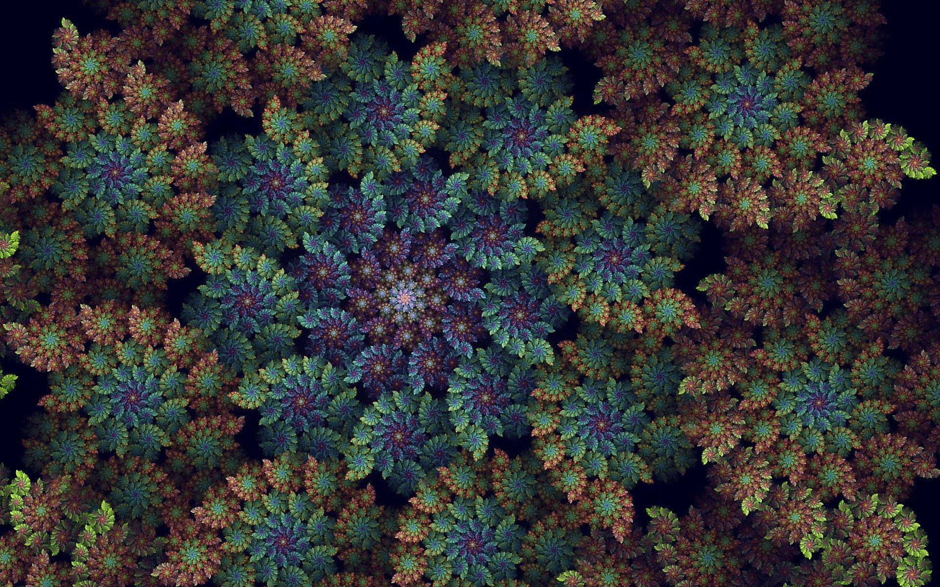 Abstract - Fractal  Wallpaper