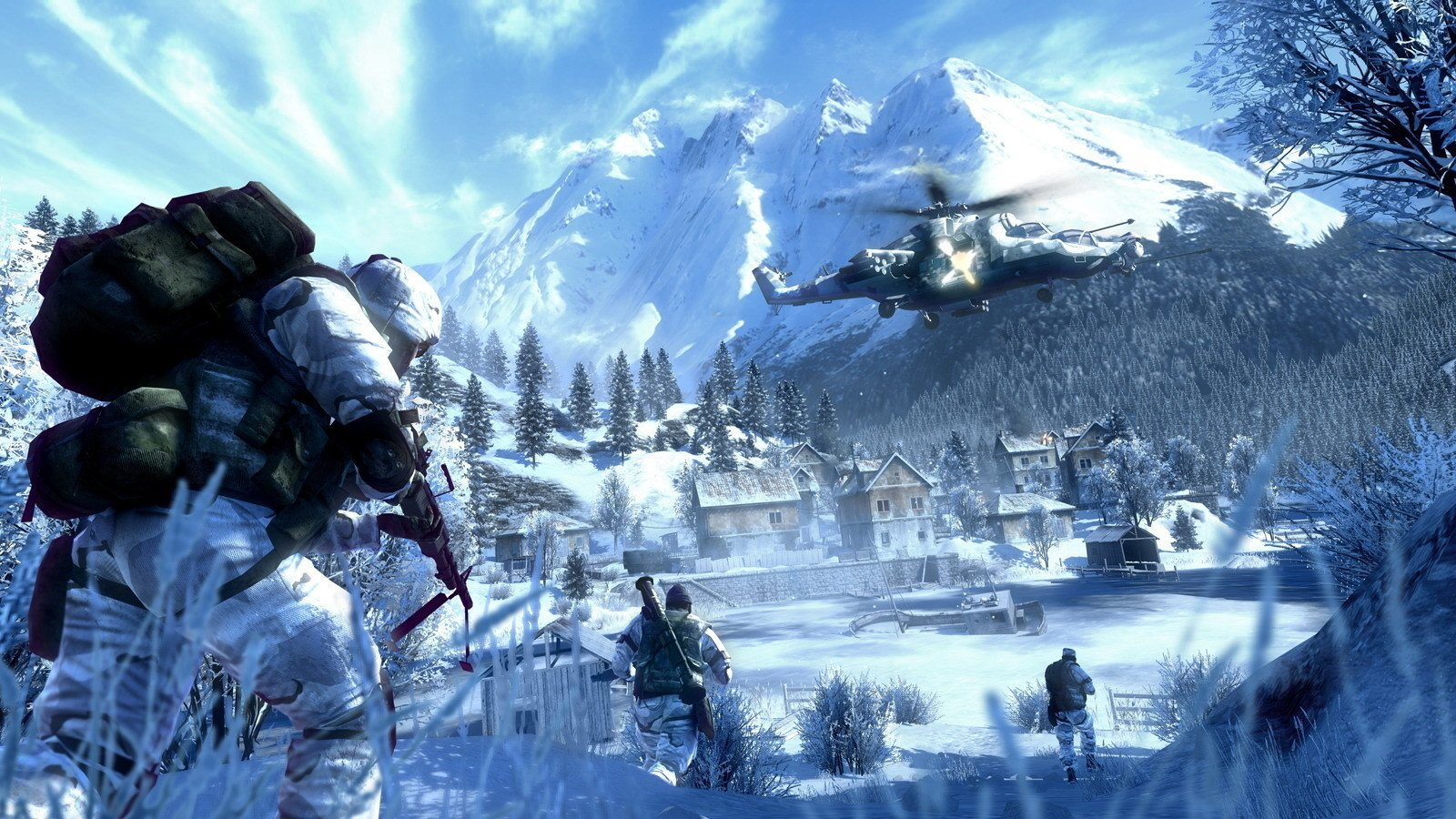 28 Battlefield Bad Company 2 Hd Wallpapers Background Images