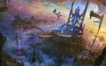 Fantasy - Großstadt Wallpapers and Backgrounds ID : 388268