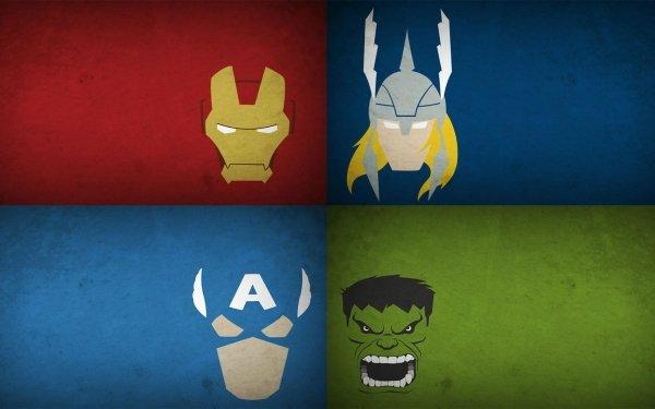 Comics Los Vengadores Iron Man Hulk Capitan América Thor Fondo de pantalla HD | Fondo de Escritorio