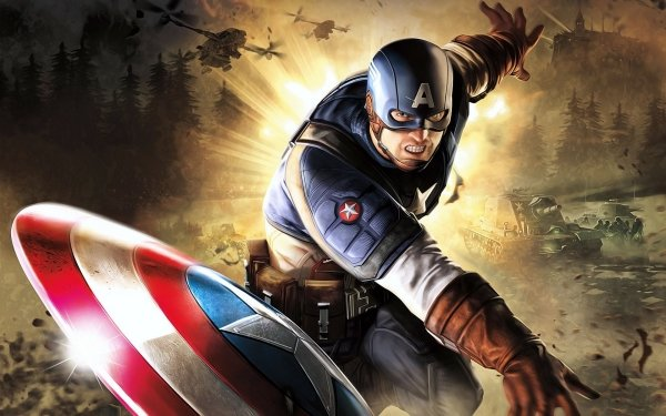 Comics - Captain America Wallpapers and Backgrounds