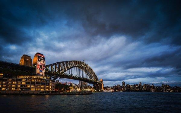 Man Made Sydney Harbour Bridge Bridges Sydney HD Wallpaper   Background Image